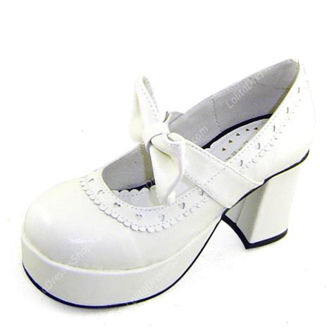 Best Seller Kvoll Sneaker Size 35 36 37 38 39 cheap white high heel simple princess pu sweet shoes sale at dresses shop