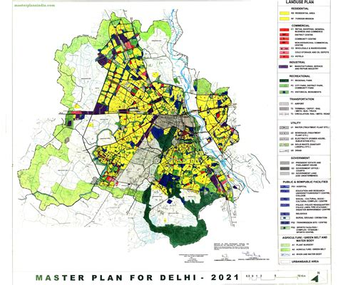 layout and land use of chandigarh delhi master plan 2021 land use and development plan map