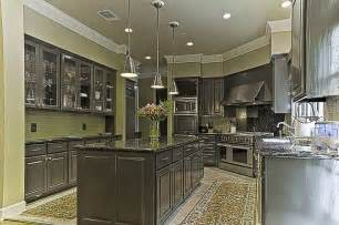 wall color for kitchen with grey cabinets dark gray cabinets and green walls backsplash kitchen