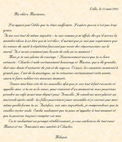Exemple De Lettre De Remerciement Amicale Exemple D Une Lettre Amicale