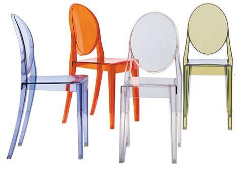 sedie trasparenti kartell ghost sedia kartell di design in policarbonato