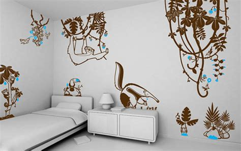 creative wall decorations 50 beautiful designs of wall stickers wall decals
