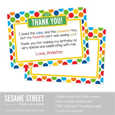 Sesame Thank You Card Template by 17 Ideas About Sesame Streets On Give Up On