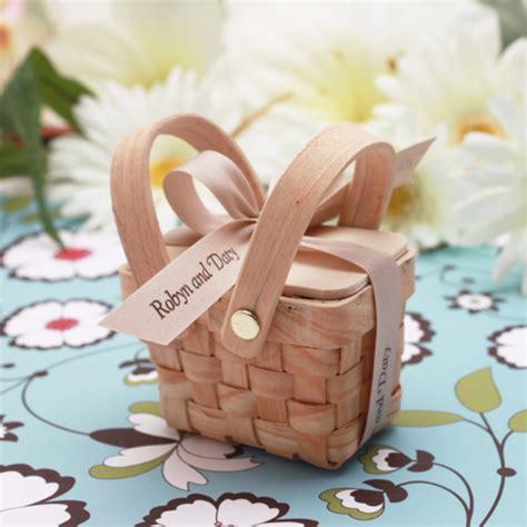 Anniversary Decorations Ideas Mini Woven Picnic Baskets 6 Pcs Garden Theme Wedding