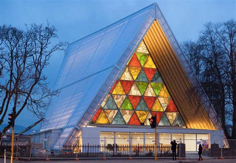 Shigeru Ban Completes Incredible Cardboard Cathedral In Architectural Designer Christchurch