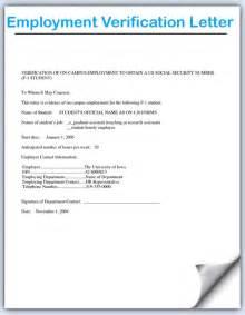 Employment Verification Letter Pdf letter format for employment verification 9 employment with regard