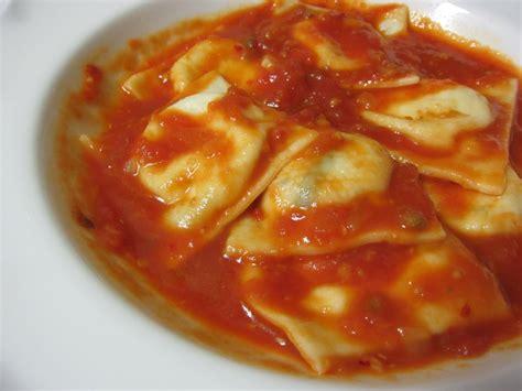 the saucy kitchen basil goat cheese ravioli
