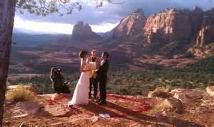 Az Wedding Venues On Top Of The World Heart Of Sedona Wedding Blog