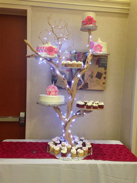 Pin Quinceanera Table Decorations Cake Pasteles Para Quincea 241 Era En Base De Arbol Quinceanera