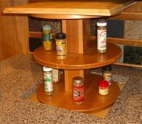 automated pop up kitchen spice rack