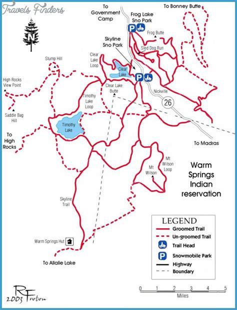 map of oregon pdf mt hiking trail map travelsfinders