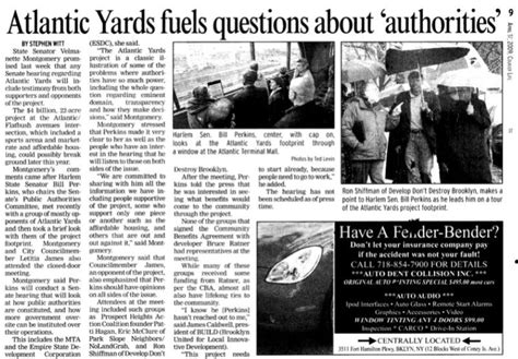 atlantic yards pacific park report after one year a look at the what s the senate hearing about the definition of blight