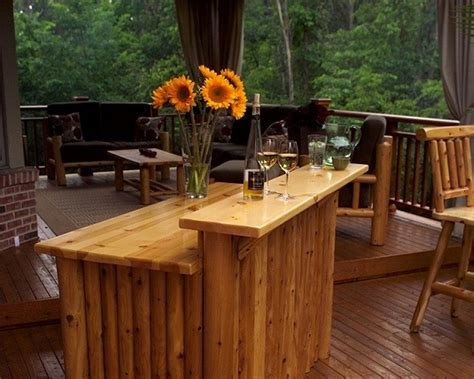 Outdoor Bar Top Ideas by 51 Bar Top Designs Ideas To Build With Your Personal Style