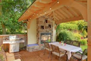 Backyard Patio With Gazebo by Back Yard Gazebo