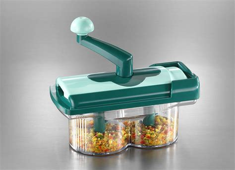 Nicer Dicer Fusion Genius As Seen On Tv Twist Chopper Knife Buah Sayur genius nicer dicer fusion as seen on tv in just rs 1249