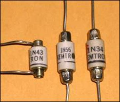 1n34 germanium diode substitute transistor museum photo gallery kemtron 1n34 historic germanium diode