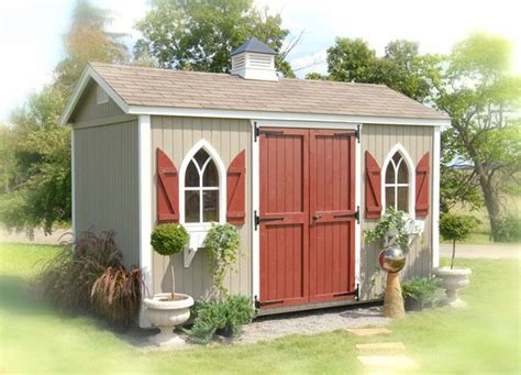 the workshop wood garden storage shed kit 8 x 16