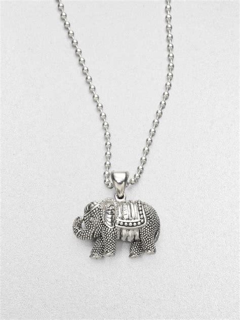 Charm Gajah Silver elephant necklace silver uk best elephant 2017