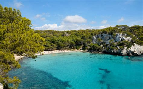 menorca travel guide telegraph menorca beaches
