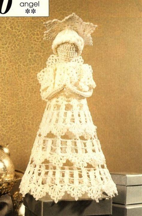 angel christmas tree topper pattern crochet heirloom christmas angel tree topper pattern