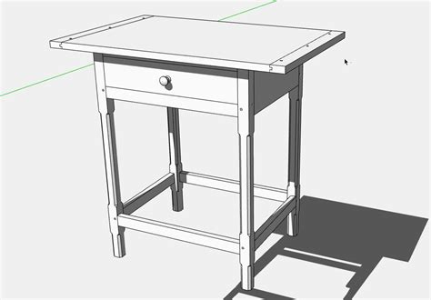 Woodworking Plans For Tv Table