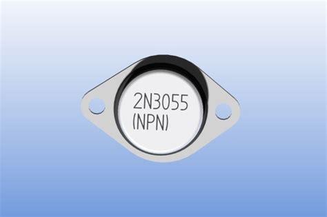 transistor 2n3055 similar 2n3055 npn transistor solid edge other 3d cad model grabcad
