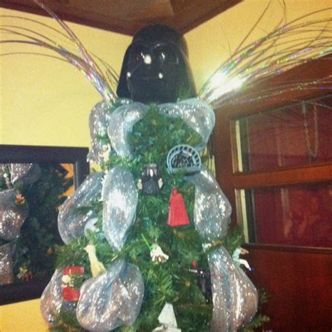 a friend s star wars christmas tree look closely at