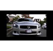 09 Maxima Custom Light Vid  YouTube