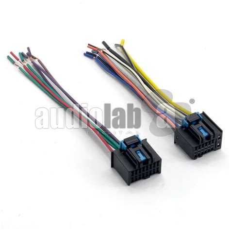 aftermarket stereo wiring harness adapters wiring