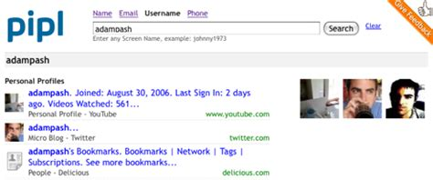 Pipl Email Search Pipl Tracks Your By Email Or Username Lifehacker Australia