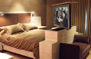 Bed Frame Headboard And Footboard Under Over The Bed Lifts Vs Ceiling Or Footboard Tv Lifts