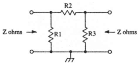 resistor pi network resistor pi network 28 images pi resistor network calculator 28 images attenuators