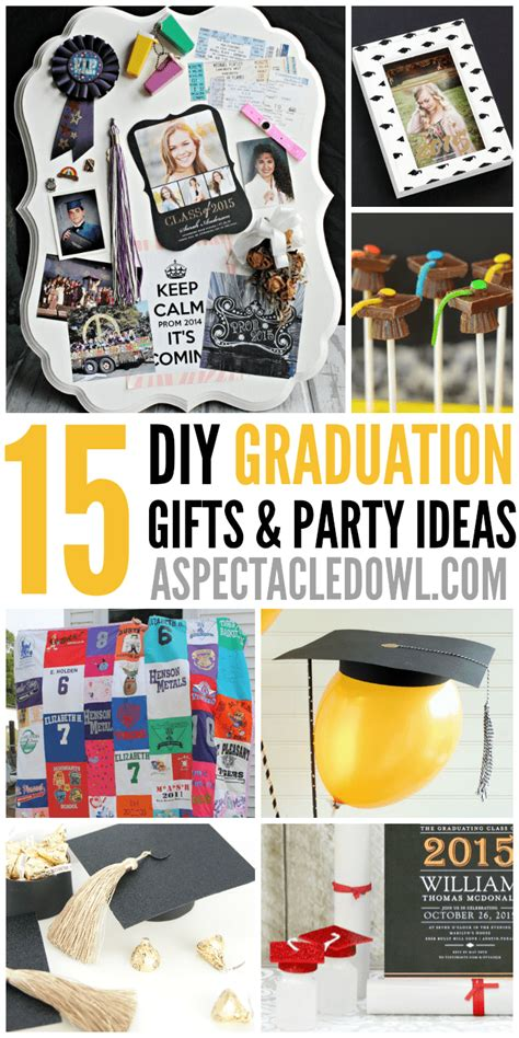 diy decorations gifts 15 diy graduation gift ideas a spectacled owl
