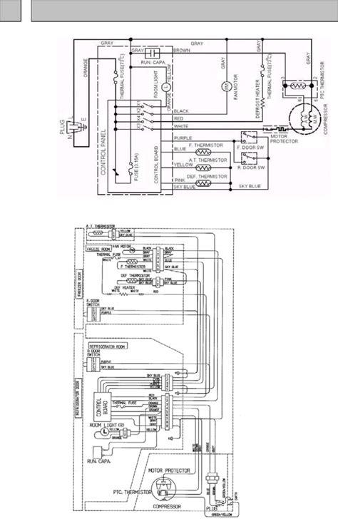 wiring diagram refrigerator mitsubishi wiring diagram