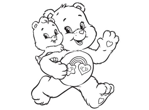 wonderheart bear coloring pages tag along care bears australia welcome to carebears com au