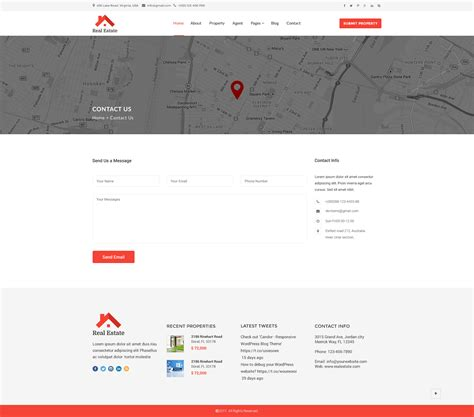 themeforest javascript real estate html5 template by asianweb themeforest