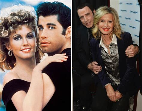 olivia newton john y john travolta how much have these movie co stars changed galleries