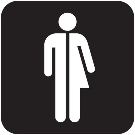 transgender restroom significon