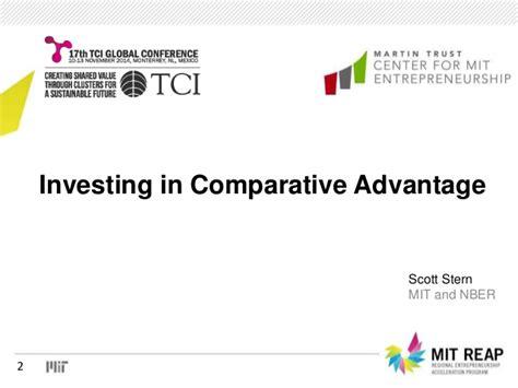 comparative economics in a transforming world economy mit press books tci 2014 investing in comparative advantage
