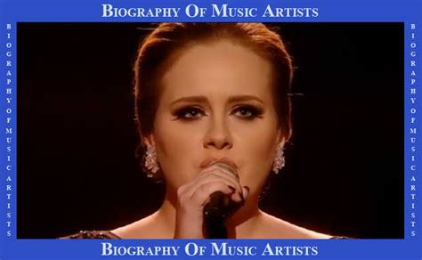 biography of adele biography of music artists biography of adele