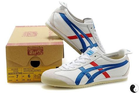 mens womens onitsuka tiger mexico 66 sport shoes white