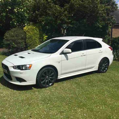 mitsubishi car white mitsubishi 2009 lancer ralliart gsr s a white car for sale