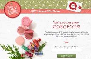 Qvc Sweepstakes - qvc give gorgeous instant win game win a give gorgeous prize pack worth over 450