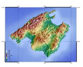 Mallorca World Map by Map Of Mallorca Topographic Map Worldofmaps Net