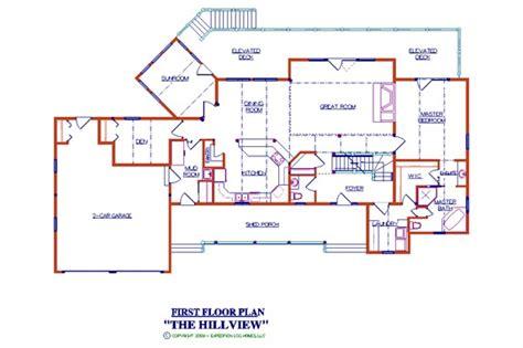Hillview Log Floor Plan Log Cabin 3167 Sq Ft Log Cabin Floor Plans 2000 Square