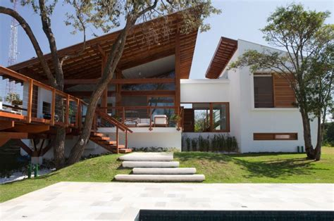 holiday house designs luminous family holiday house in sao paolo brazil