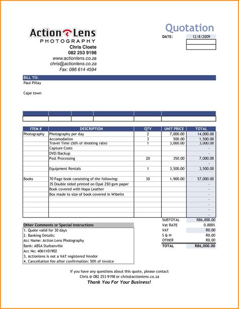 invoice template in excel format 5 bill format in excel sheet simple bill