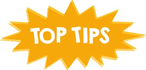 best tips top tips
