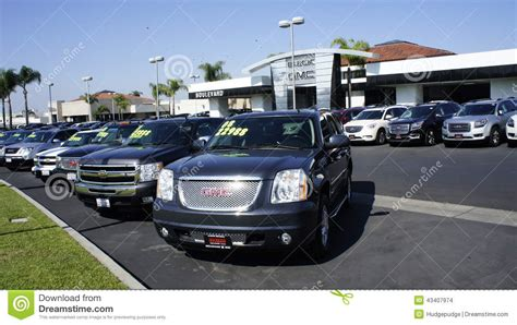 cherry tree auto sales used cars for sale editorial stock image image 43407974