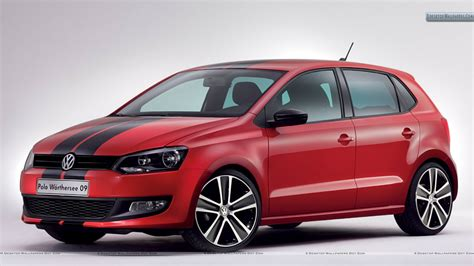 volkswagen polo red volkswagen polo worthersee 20009 concept red car black